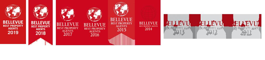 Groebmair Immobilenmarkler Best Property Agent 2011 bis 2019